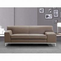 Italian Design/Attractive Outlook Lounge Furniture Leather Sofa, Solid Wood Internal Frame Manufactures