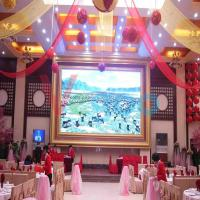 Remote Control Indoor Full Color LED Display P10 Led Module AC 110V - 220V DP5020 Manufactures