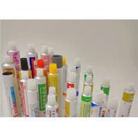 Aluminum Metal Squeeze Tubes For Gels For The Use Of Ophthalmology Manufactures