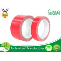 Multi - Purpose Red Duct Tape 6 Rolls/Set Water Resistant Duct Tape Rubber Adhesive Manufactures