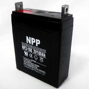 Solar Battery NP2V 100ah Manufactures