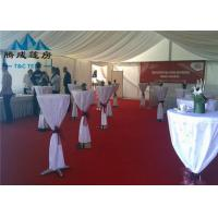 Clear Span Transparent Outdoor Event Tent , Aluminum Frame Large Tents For Weddings Manufactures