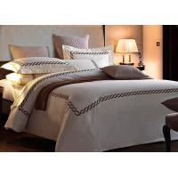 Home / Hotel Modern Duvet Covers And Shams Embroidered 4 Pcs Patten Customized Manufactures