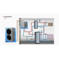 Split Air to water heat pump,House heating and sanitary hot water