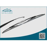 Silicone Beam Wiper Blade / Windshield Wiper Blades 600MM Single Blister Packing Manufactures