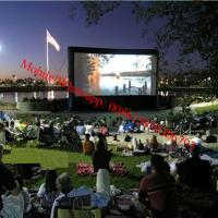 Inflatable rear projection screen inflatable movie screen Manufactures