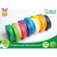 High flexibility Rainbow Coloured Masking Tape For Painting , Easy To Remove Manufactures