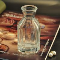 Diffuser Glass Perfume Bottles / Clear Glass Reed Diffuser Bottle Manufactures