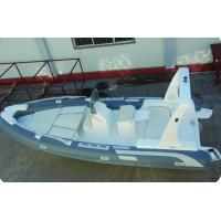 Rigid Hull Transport Tour Inflatable RIB Boats With 1.2mm PVC Tube Manufactures