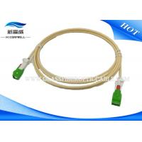 Auto Shutter Fiber Optic Patch Cables Patch Cord Aerospace With LC Connectors