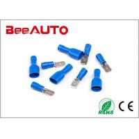 MDD Spade Male Female Wire Connectors , Electrical Cable Connectors Brass Manufactures