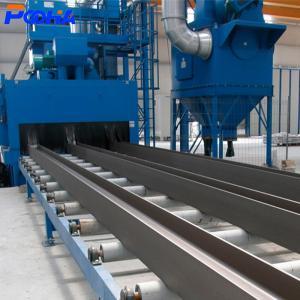 ODM Q6922 Sandblasting Shot Blasting Machine Roller Conveyor Abrator For H Beam Manufactures