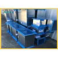 Customized Logo Duct Protection Film Different Size Blue Color UV Stable Manufactures