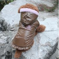 Customized Personalized Pet Dog Sports Clothes Cotton Coats For Small Dogs Manufactures