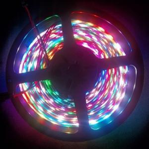 72leds/m Digital flexible led strip light with IC built-in LEDs Manufactures
