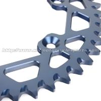 Quality Yamaha Yz250 Parts Dirt Bike Sprockets With CNC Billet Machining for sale