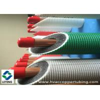 0.8 - 1.6 mm Wall Thick Rigid Copper Pipe , Air Conditioning Condensate Pipe Manufactures