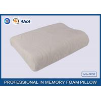 Comfort Waved shapded Memory Foam Contoured Pillow , Classic Memory Foam Pillow Manufactures