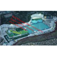 Backyard swimming pool water slide for inflatable pool inflatable pool with slide Manufactures