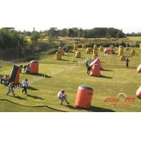 Sport Game Inflatable Paintball Bunkers Manufactures
