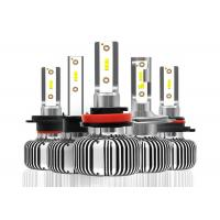 Fanless LED Replacement Headlight Bulbs With Fast Start Speed 9005 9006 9012 Manufactures