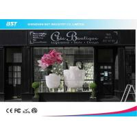 P3.75 Trans Eyes Transparent Video Wall , Hd Glass Led Display Advertising Manufactures