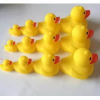 Quality Yellow Floating Carnival Baby Rubber Duck Water Resistant With Magnecti for sale
