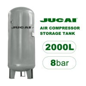 DN08 2000L 8BAR Air Compressor Storage Tank Carbon Steel Manufactures