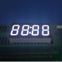 """0.36"""" Common Anode 4 digit 7 Segment LED Clock Display Ultra Bright White For Digital Timer Control Manufactures"""