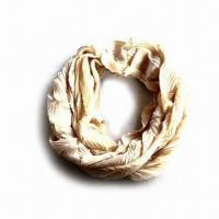 Tube Scarf, Made of 100% Polyester Manufactures