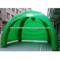 Green 4 Man Festival Inflatable Tent Inflatable Lawn Tent Rentals Manufactures