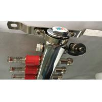 Floor Single Zone Underfloor Heating Manifold 5 Ways With 2 Manual Drain Valve Manufactures