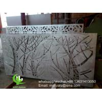 Tree Metal aluminum perforated panel carved panel sheet for fence decoration Manufactures