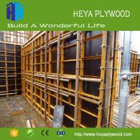 HEYA 1220 2440 anti slip film faced plywood 3 - 28mm marine plywood wall panel Manufactures