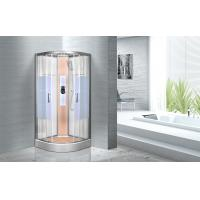 Quality KPN2064 Customized Circle Glass Shower Cabin , Curved Corner Shower Units for sale