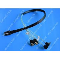 SFF 8087 To SATA Serial Attached SCSI Cable 500mm 30 AWG 28 Pin For Server Manufactures