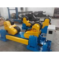 Black PU Wheel Automatic Pipe Welding Rotator 60T Rotary Capacity Manufactures