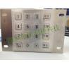 Waterproof IP65 ATM Machine Stainless Steel Keypad Encryption Pinpad Manufactures