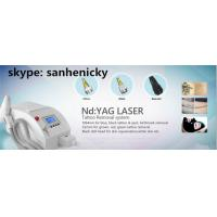 mini medical q-switch nd yag laser tattoo removal machine with 1064 532 1320nm Manufactures