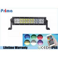 5D 22 Inch 120W Color Changing LED Light Bar Control By Phone APP Bluetooth Manufactures