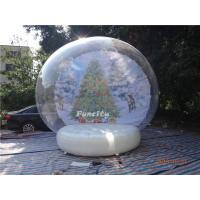 0.6mm PVC Tarpaulin Inflatable Christmas Decorations Advertising Use Manufactures