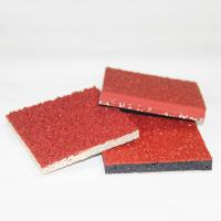 Two Layers Outside Basketball Court Flooring, Rubber Athletic FlooringFor Jogging Manufactures