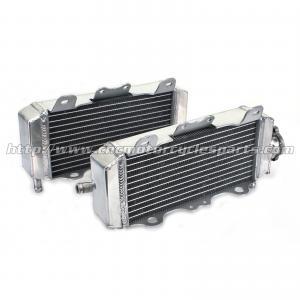 Heat Resistance Custom Motorcycle Radiator / Dirt Bike Aluminum Radiator Engine Cooling System Manufactures