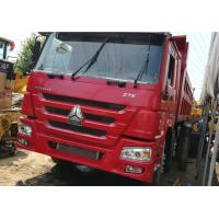 Quality HOWO 12 Wheels 375 Howo 8x4 Dump Truck With Manual Transmission Type for sale