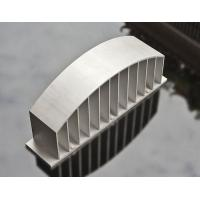 Sand Blasted Anodized LED Heat Sink Aluminium Profiles High Precision Manufactures