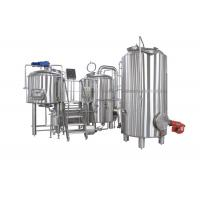 7BBL 2 Vessel Brewhouse Heated By Steam For Beer Brewing Process Manufactures