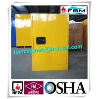 Quality 12GAL Flammable Safety Storage Cabinets with Double vents For Industrial Chemical for sale