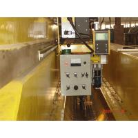Buy cheap Long Two Pieces Plates Longitudinal Seam Welding Machine with Piano Press from wholesalers