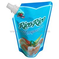 Food grade Stand up Spout Pouch for 175g seasoning Packing Manufactures