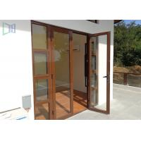 European Style Aluminium Casement Door Soundproof Outswing Exterior French Door Manufactures